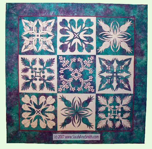 Nourish The Body Nourish The Soul Quilt Pattern by Sarah Ann Sm