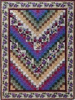 Big Block Bargello Quilt Pattern in 2 Sizes by Sew Biz