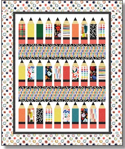 School Rules Quilt Pattern by The Whimsical Workshop