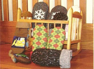 Kidz Mitts Children's Mittens Pattern by Sisters Common Thread