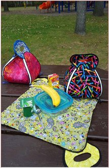 Lunch Pal Lunch Caddy Pattern by Sisters Common Thread