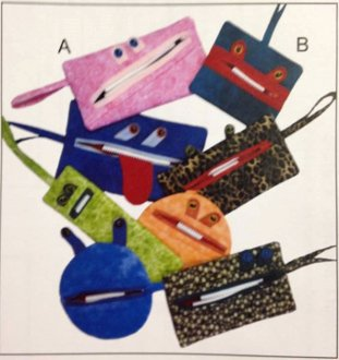 Zip Your Lip Purse/Bag/Pouch Pattern by Sisters Common Thread