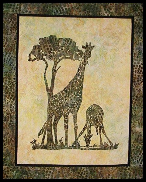 Serengeti Dream Wallhanging Pattern by Willow Bend Creations