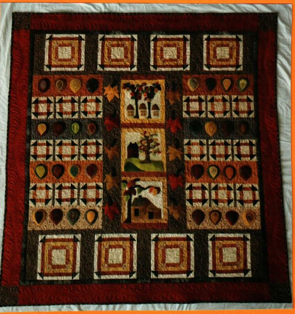 Autumn In New England Quilt Pattern by Sunflower Fields Pattern