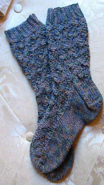 Shell Gaitors Knitted Sock Pattern by Pamela Pascal Rush