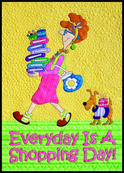 Every Day is a Shopping Day Epattern by Amy Bradley Designs
