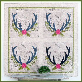 Nature Lover Quilt Pattern by Sew Into The Fabric