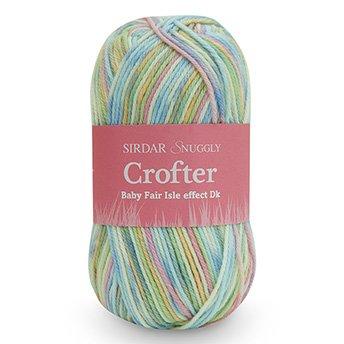 Sirdar Baby Crofter Fair Isle Effect DK  Yarn