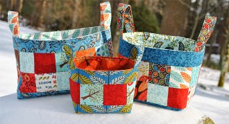 Basket of Charms Bin Pattern by Sweet Janes