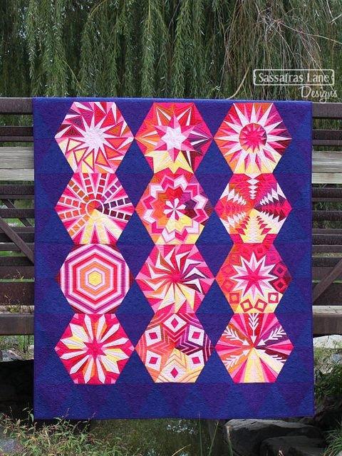 Arcadia Avenue Block of the Month Quilt Pattern by Sassafras Lane