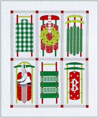 Sleds Quilt Pattern by Amy Bradley Designs