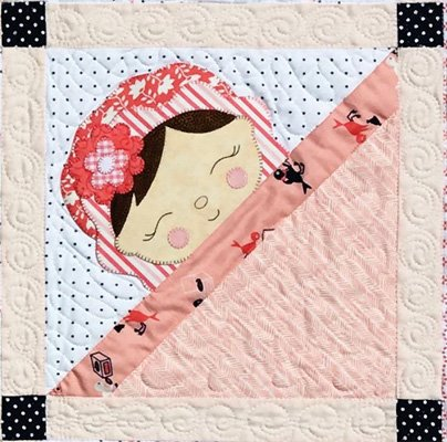 Sleepy Babies Quilt Pattern by Amy Bradley Designs