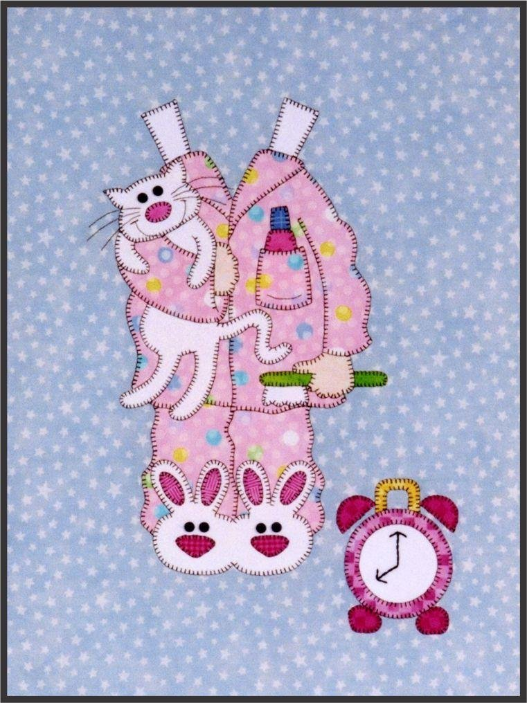 Sleepy Time PJs from the Sugar and Spice Quilt Epattern by Amy Bradley Designs