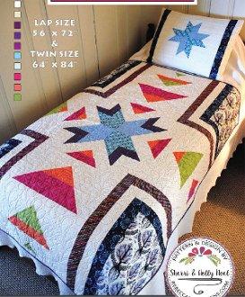 Sugar Creek Quilt Pattern in 2 Sizes by Sherri Noel