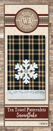 Snowflake Applique Patternlet by The Wooden Bear