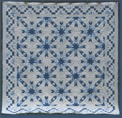 Snowflake Quilt Pattern by Border Creek Station