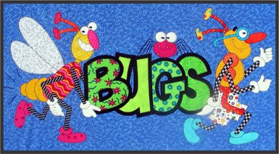 Snugly Bugly Series - Bug Parade Block Epattern by Amy Bradley Designs