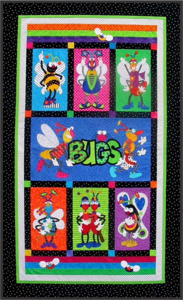 Snugly Bugly Quilt Epattern - Complete by Amy Bradley Designs