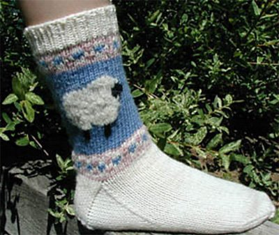 Sock of the Month for April by Lisa's Knits