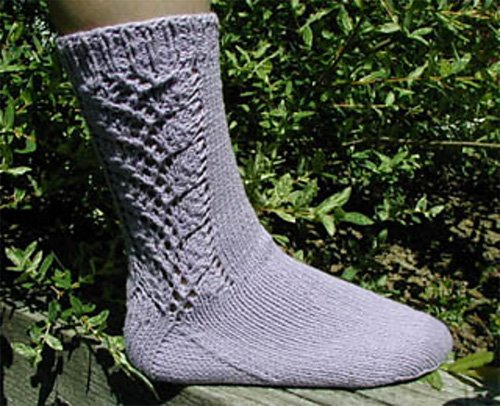 Sock of the Month for May by Lisa's Knits
