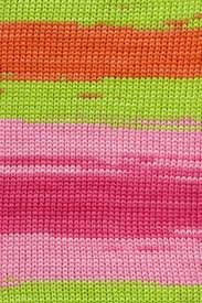 Lang Sol Degrade Yarn Color Pinks and Greens 0065