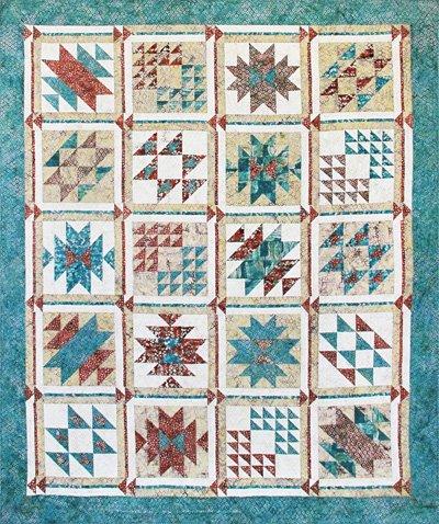 Southwest Oasis Quilt Pattern by McKenna Ryan