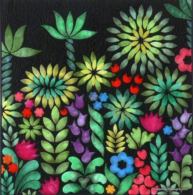 Eve's Garden Quilt Pattern by Sue Pelland Designs