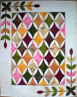Hope's Diamond Quilt Pattern by Sue Pelland Designs
