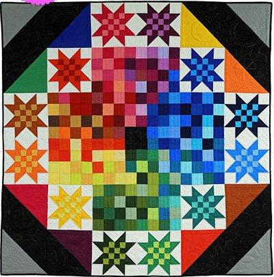 Spectrum Quilt Epattern by Charisma Horton