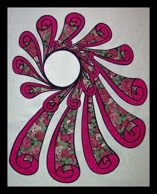 Spin Cycle Wallhanging Pattern by Another by Anita