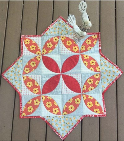 Spitting Seeds Table Center Pattern by Cut Loose Press