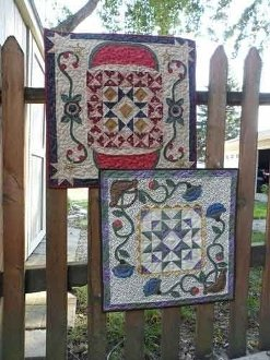Seasons Treasures Too! Table Topper Patterns by Snuggles Quilts