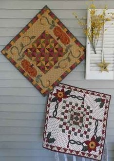 Seasons Treasures Tablerunner/Tabletopper Patterns by Snuggles Quilts