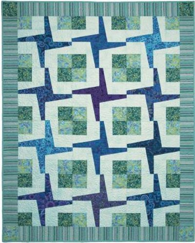 Square Dance Quilt Pattern by Cut Loose Press