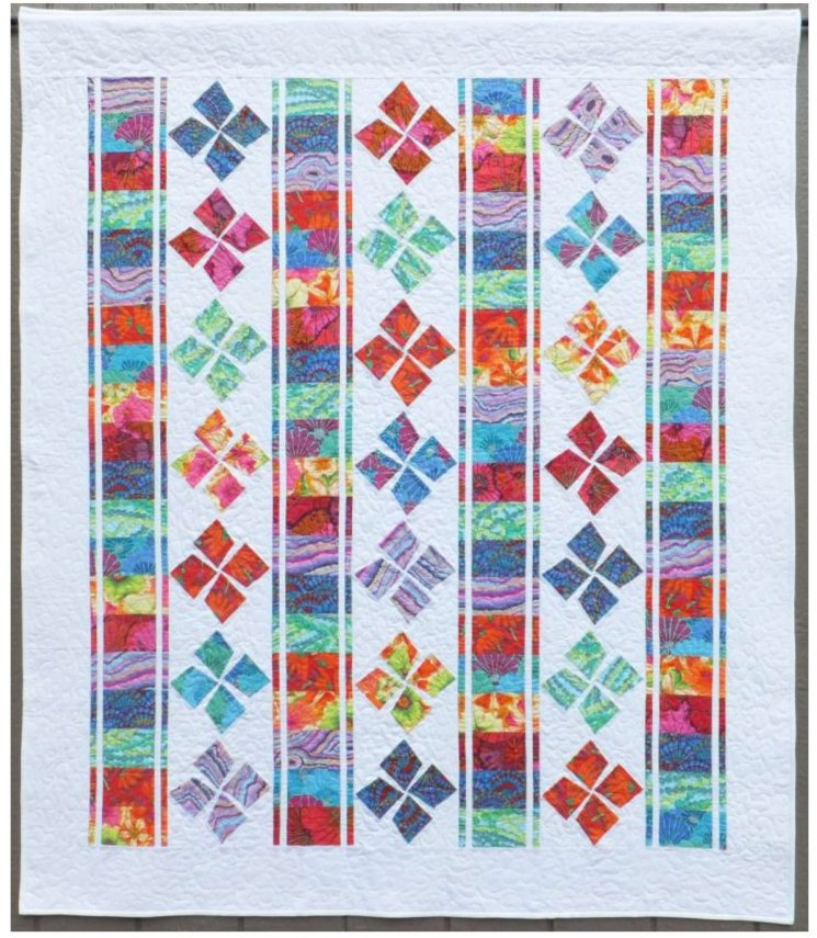 Square Dance Quilt Pattern by Willow Brook Quilts