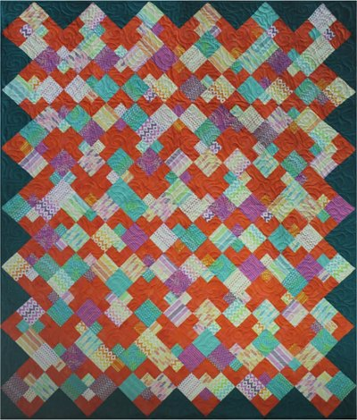Square Parfait Quilt Pattern by Amy's Wagon Wheel Creations