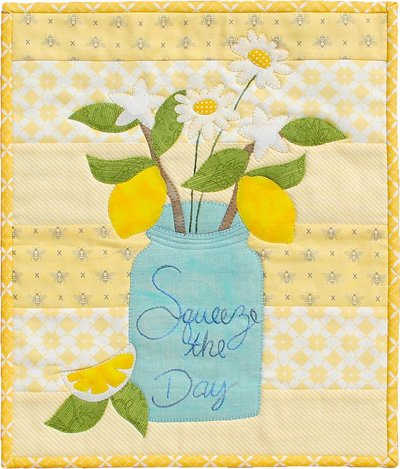 Squeeze The Day Wallhanging Epattern by Patchabilities