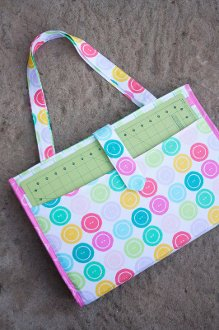 Camp Stitch-A-Lot Project Tote by Sew Sweetness