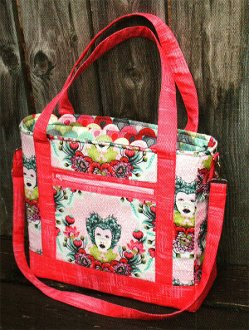 Tudor Bag Pattern by Sew Sweetness