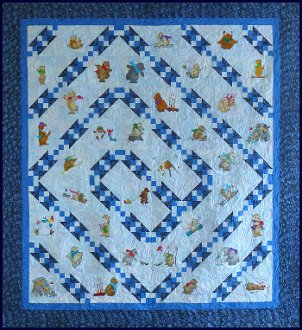 Simply Does It Quilt Pattern in 4 Sizes by Simply Stitch Designs