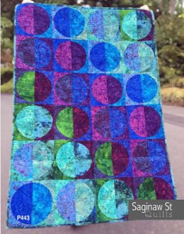 Moon Shadow Quilt Pattern by Saginaw Street Quilts