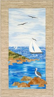 Out To Sea Wallhanging Pattern by Sweet Season Quilts