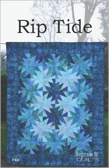 Rip Tide Quilt Pattern by Saginaw Street Quilts