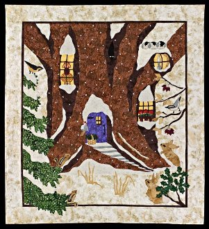 Snowy Hideaway Quilt Pattern by Sweet Season Quilts