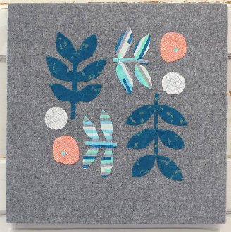 Botanics Quilt/Tote/Pillow Pattern by Slow Sewing Studio