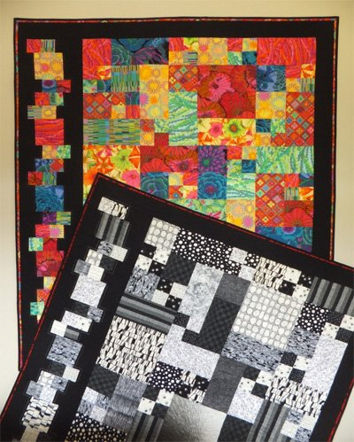 Stacked on the Side Quilt Pattern by Willow Brook Quilts