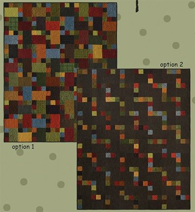 Stairsteps Quilt Pattern in 2 Options by All Through The Night