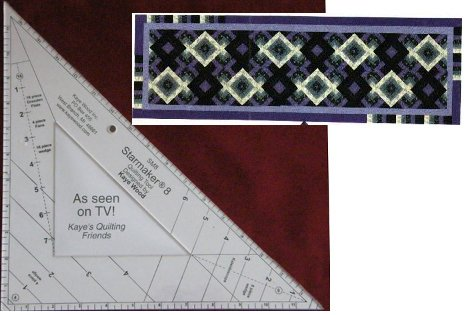 Starmaker 8 Master Template and Path of Light Pattern by Kaye Wood