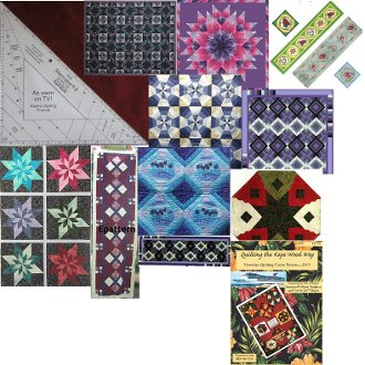 Starmaker 8 Master Template and Pattern Set by Kaye Wood