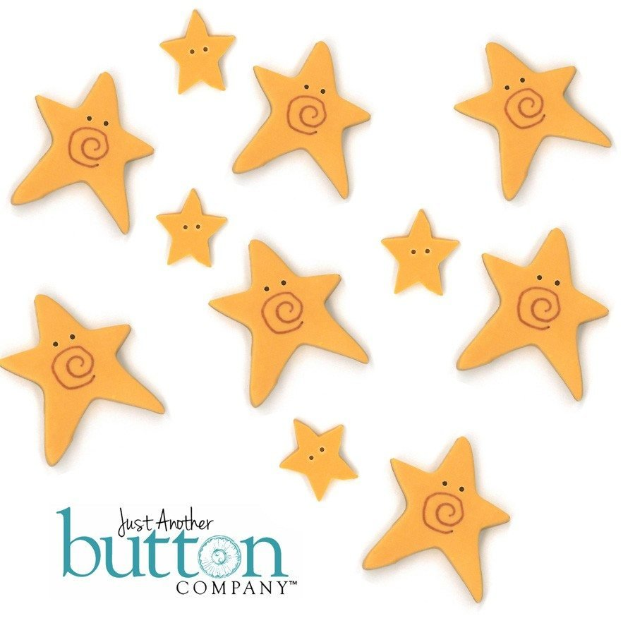 Star of Wonder Set of 20 Buttons by Just Another Button Company